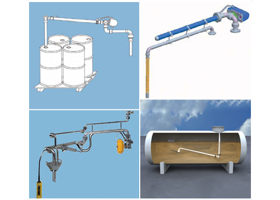 Drum Loading Arms, Bypass Arm, Pneumatic Arm, Floating Suction